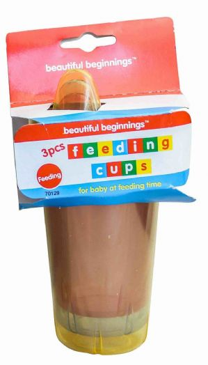 Beautiful beginnings 3pc feeding cup set (Code 1172)